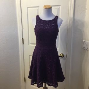 BB Dakota Renley fit and flare dress